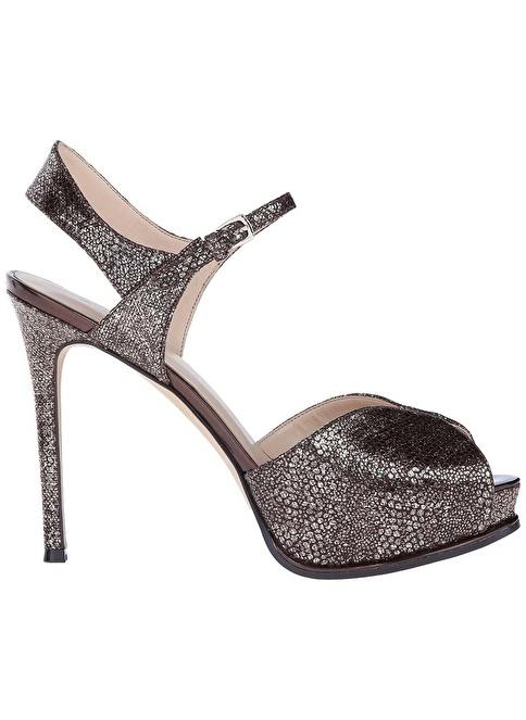 Nine West %100 Deri Klasik Ayakkabı Füme